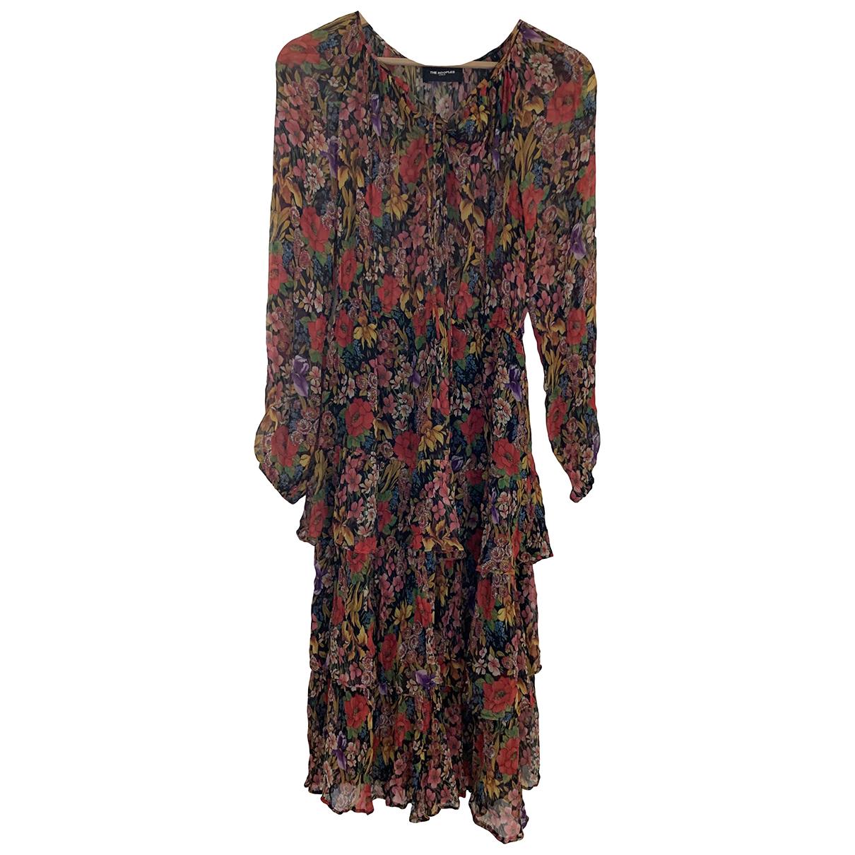 The Kooples Spring Summer 2020 Kleid in  Rot Polyester