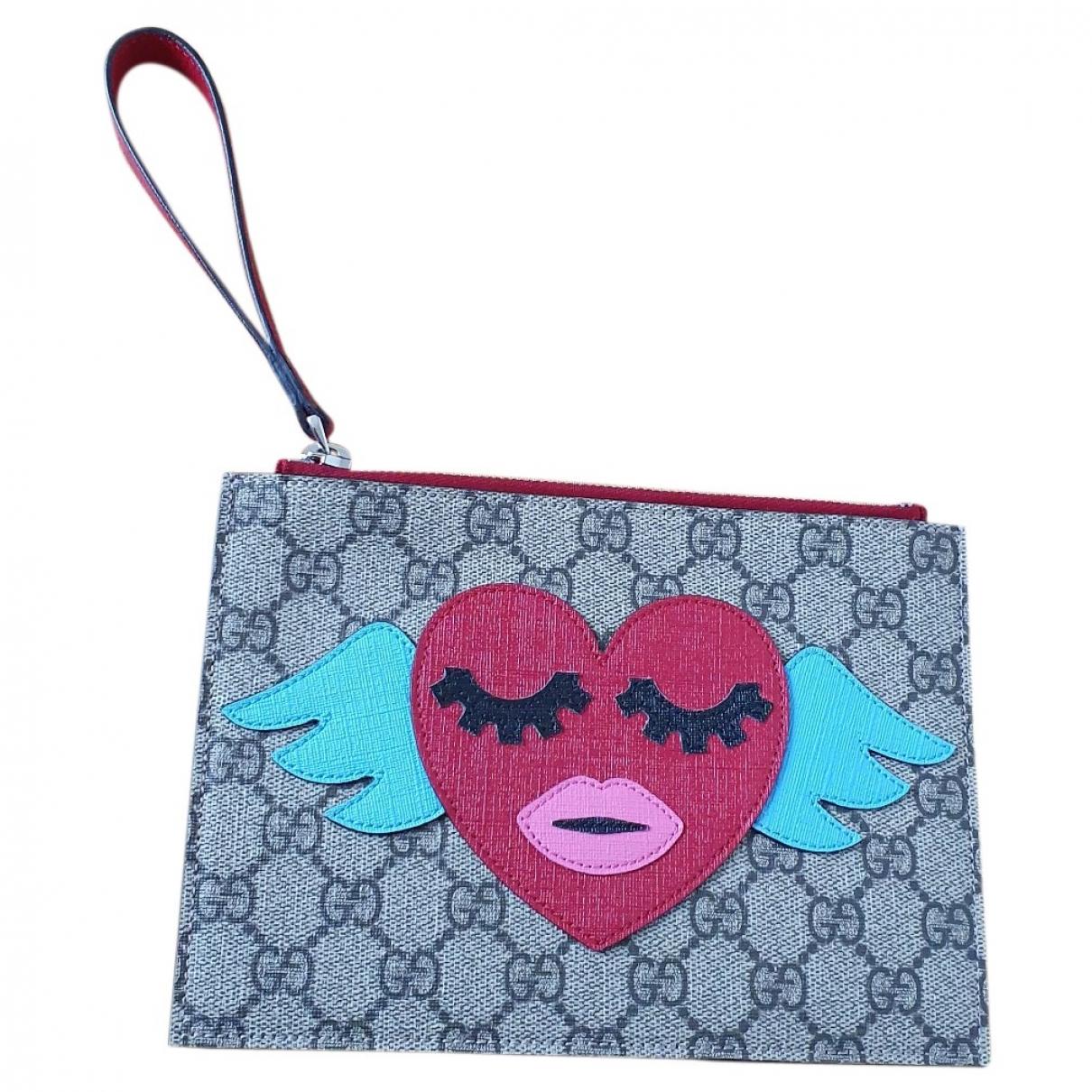 Gucci \N Beige bag & Pencil cases for Kids \N