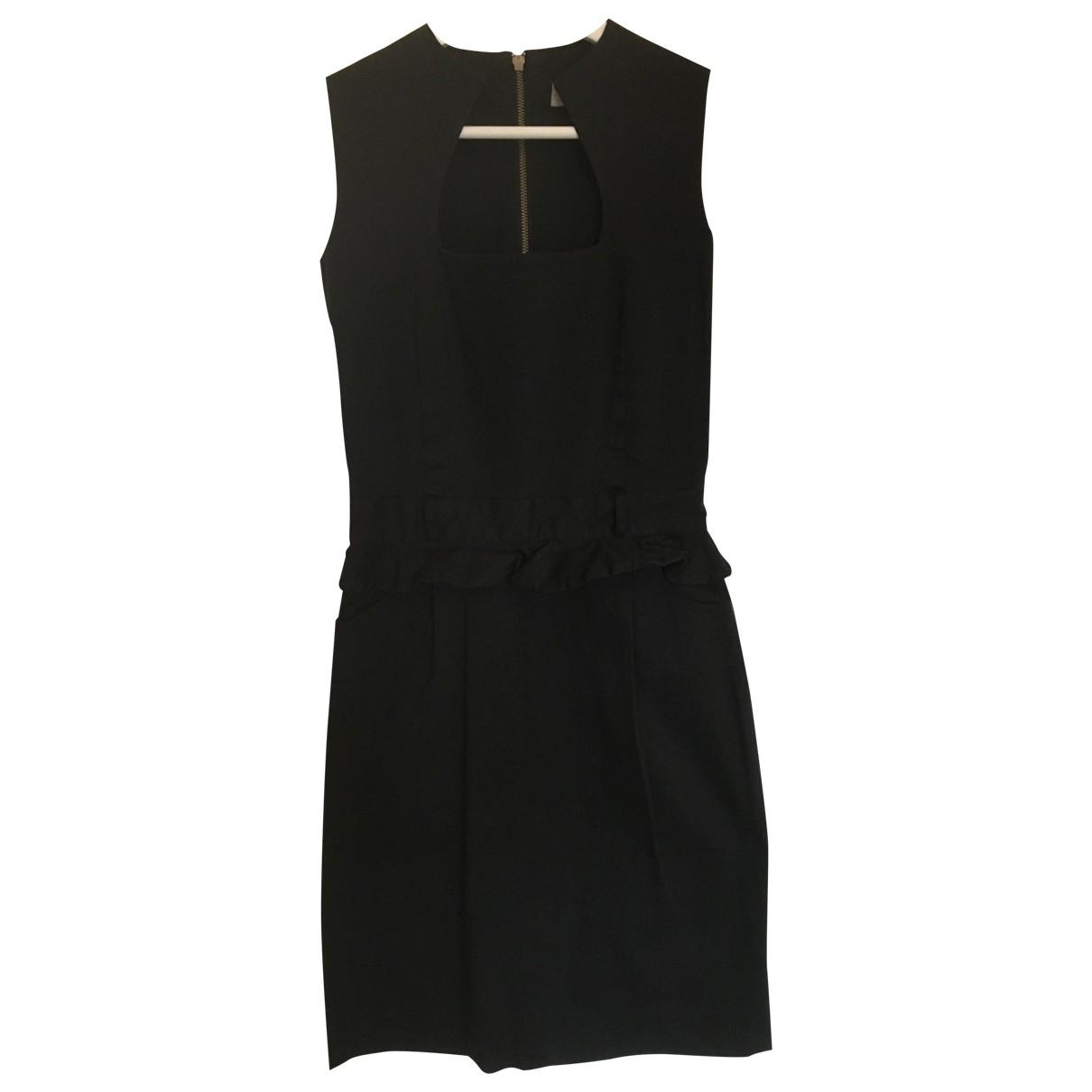 Preen \N Kleid in  Schwarz Baumwolle