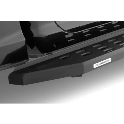 Go Rhino RB20 Running Board with Drop Steps (Black) - 6940998020PC