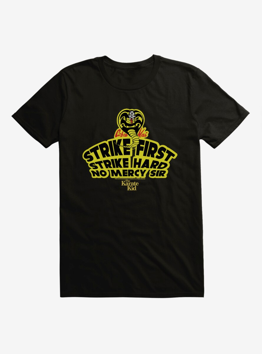 The Karate Kid Strike First T-Shirt