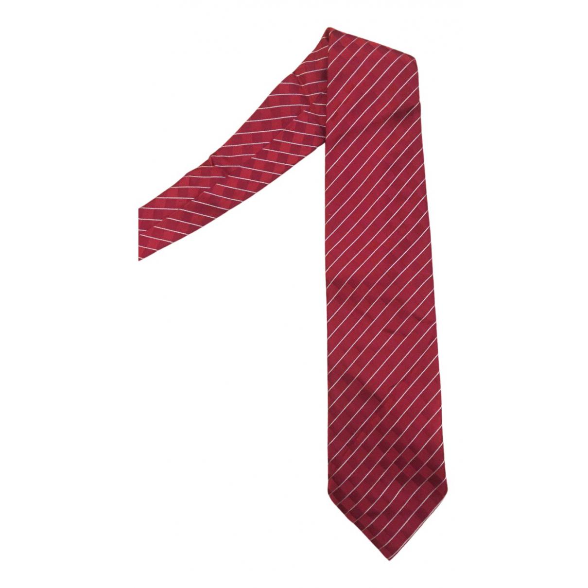 Giorgio Armani \N Krawatten in  Lila Seide