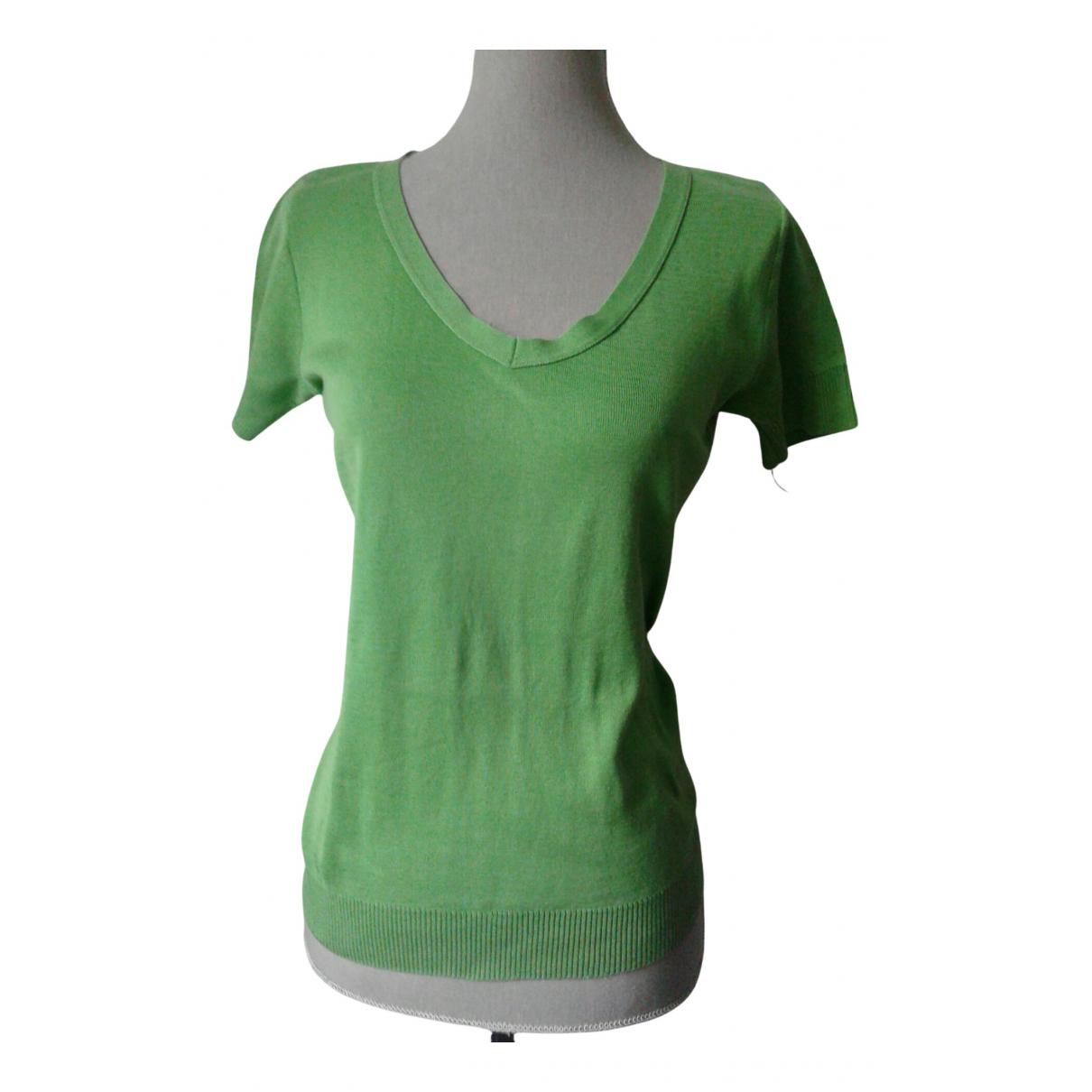 Agnes B. - Top   pour femme en coton - vert