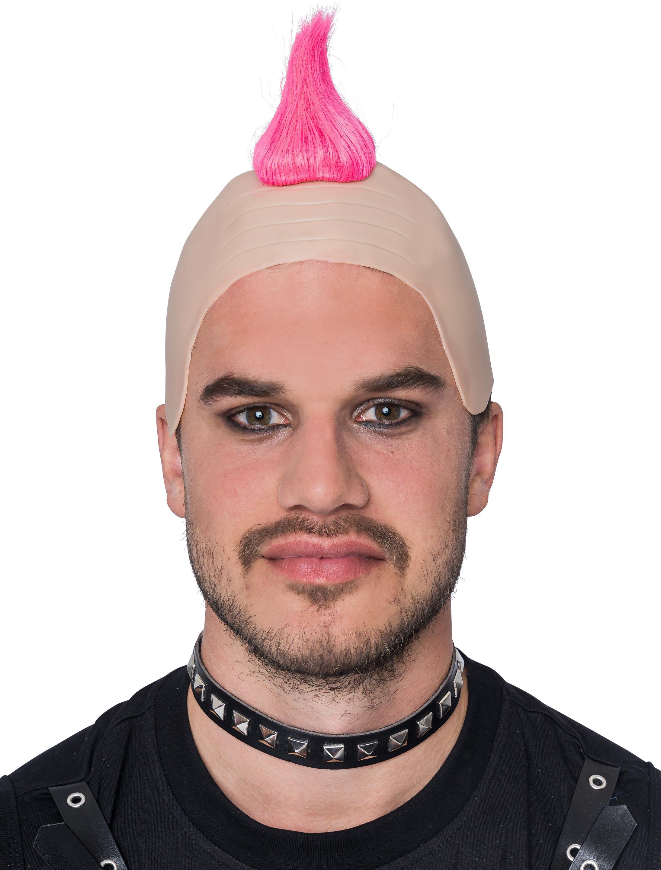 Kostuemzubehor Peruecke Punker pink