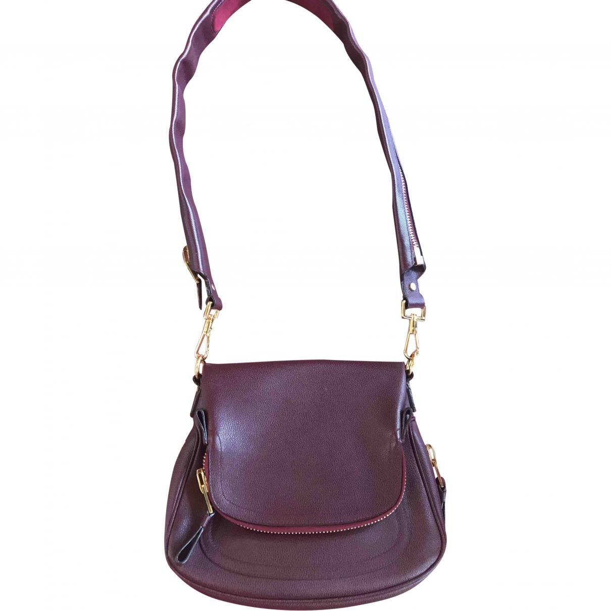 Tom Ford Jennifer Burgundy Leather handbag for Women \N
