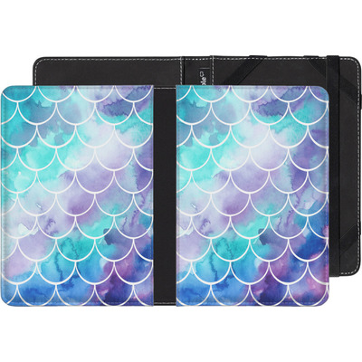 Kobo Glo eBook Reader Huelle - Purple Mermaid Scales von Becky Starsmore