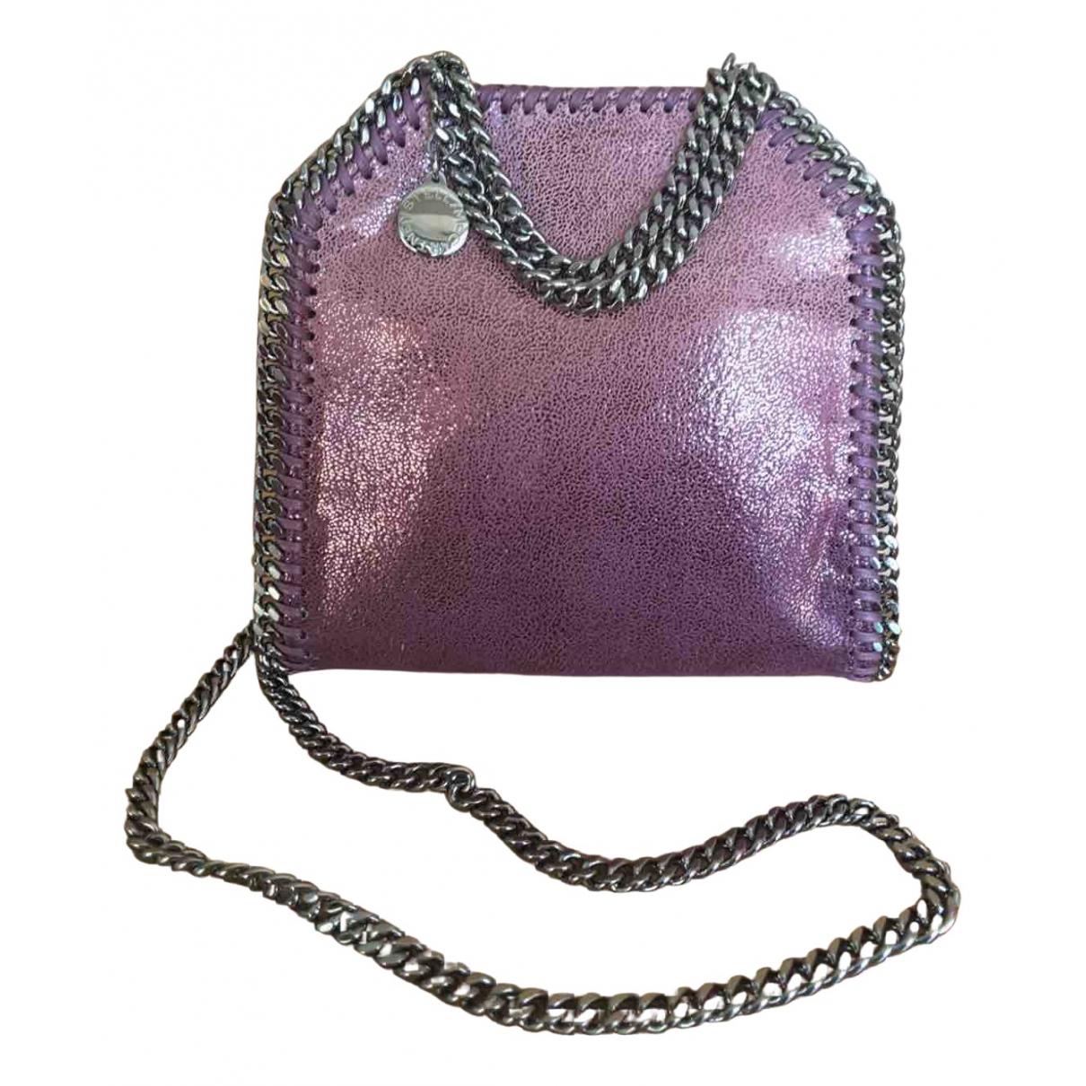 Stella Mccartney Falabella Handtasche in  Rosa Leinen