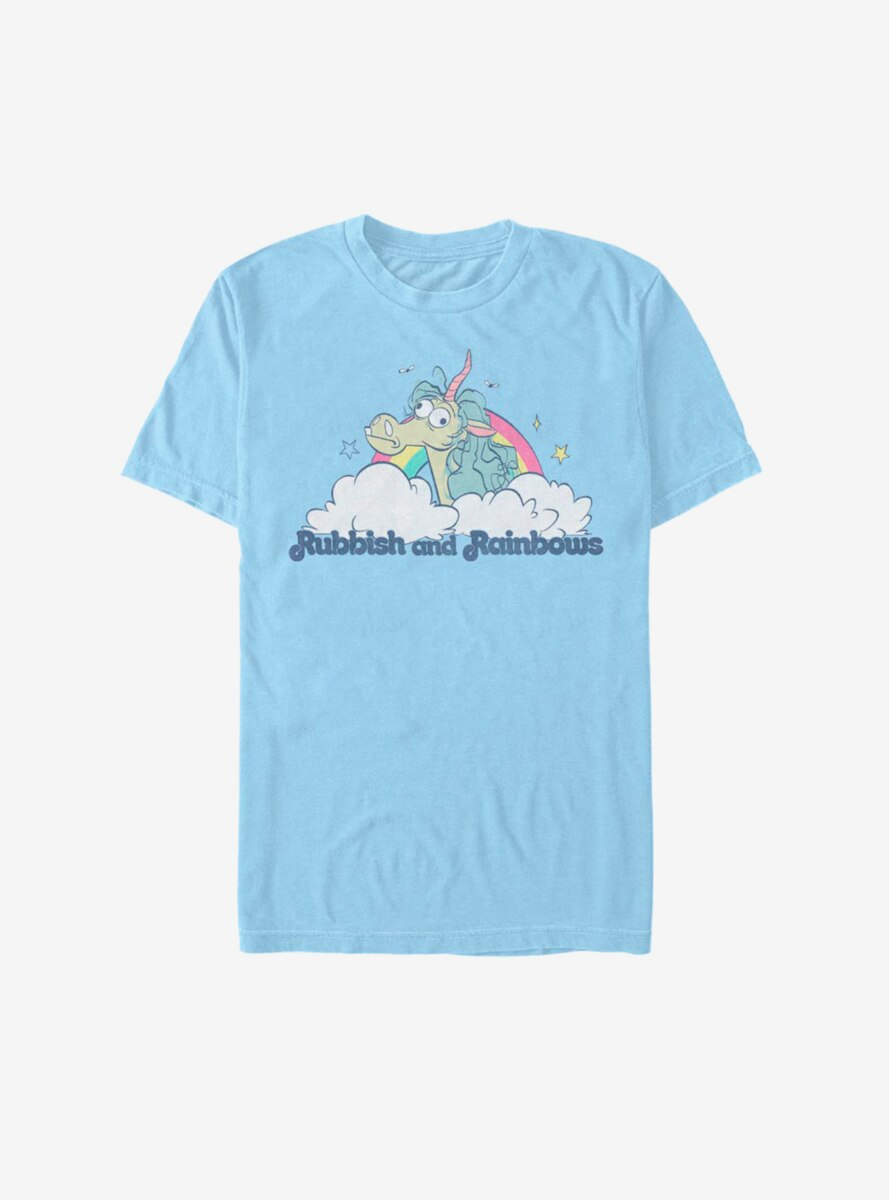 Disney Pixar Onward Rubbish And Rainbows T-Shirt