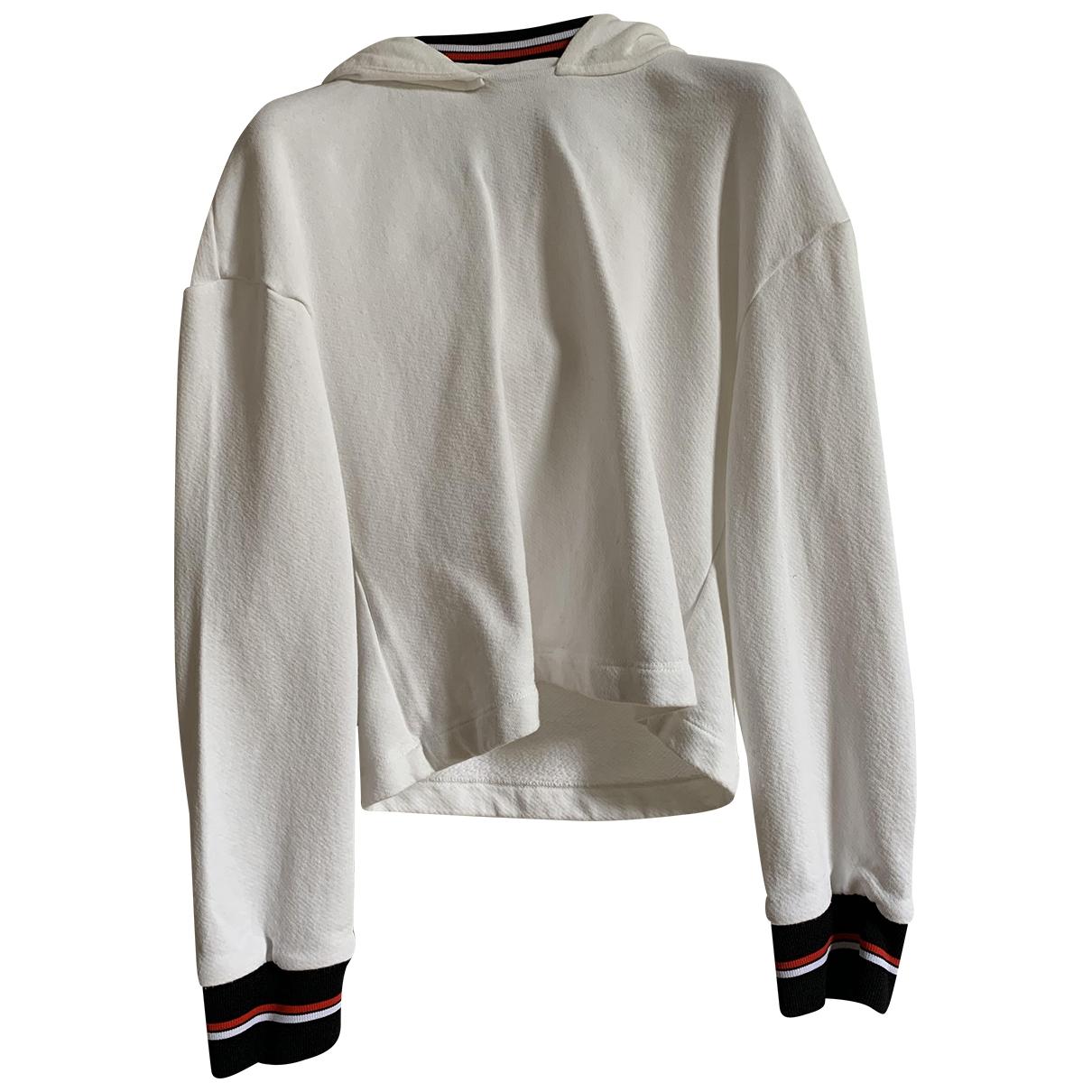 Pinko \N Pullover in  Weiss Baumwolle