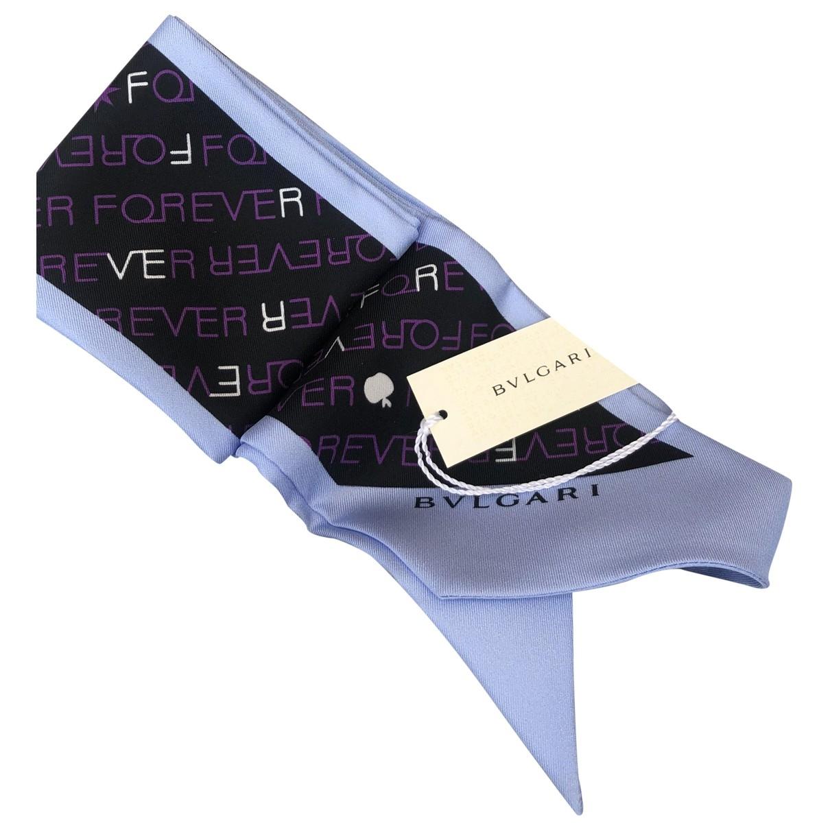 Bvlgari - Foulard   pour femme en soie - violet