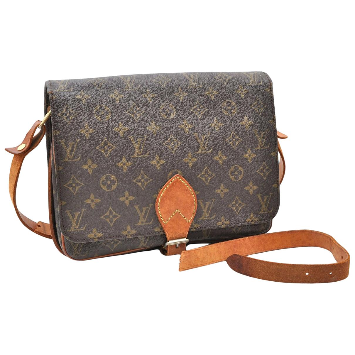 Bolso Cartouchiere de Lona Louis Vuitton