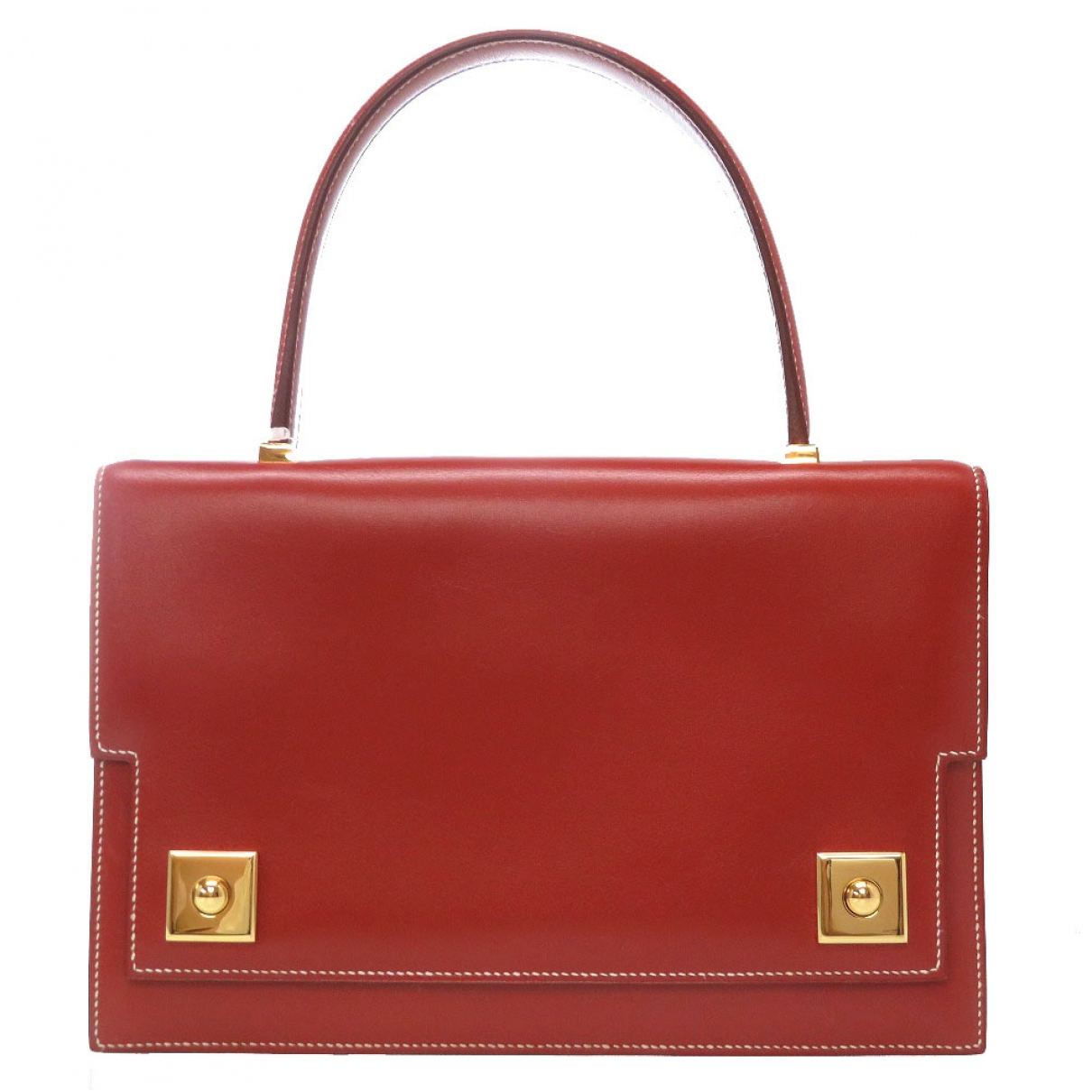 Hermès Piano Red Leather handbag for Women \N
