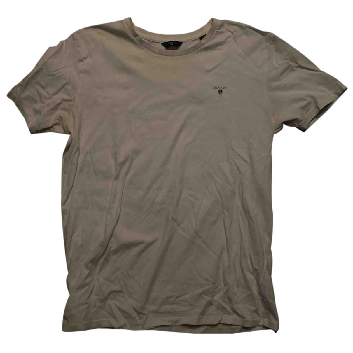 Gant N White Cotton T-shirts for Men S International