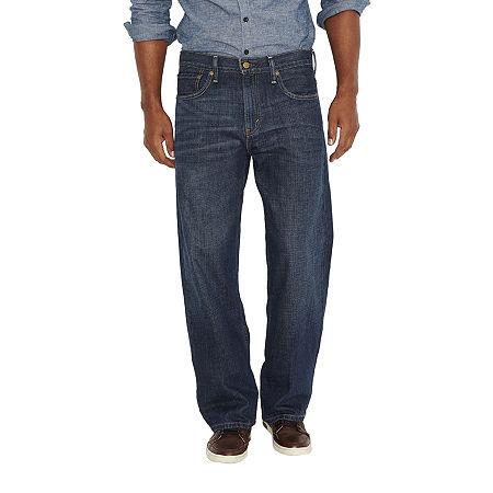 Levi's Men's 569 Loose Straight Jeans, 36 32, Blue