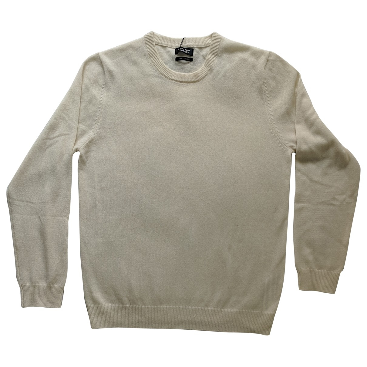 Zara \N White Cashmere Knitwear & Sweatshirts for Men L International