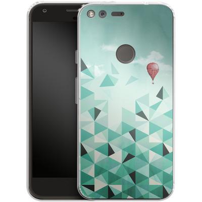 Google Pixel Silikon Handyhuelle - Emerald City von Little Clyde