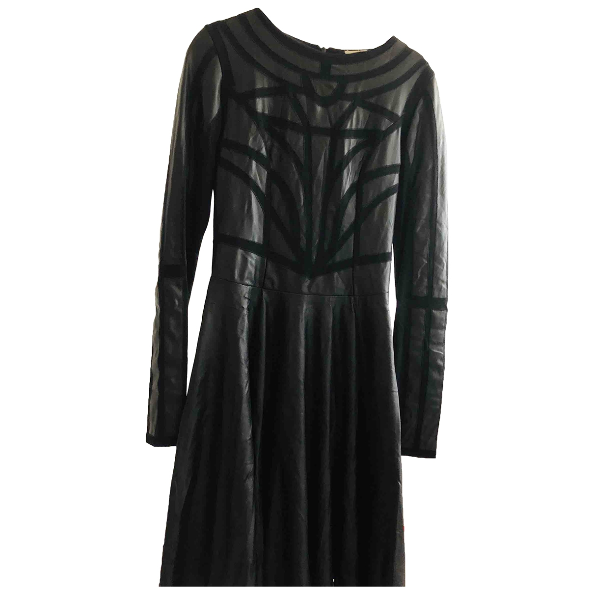 Amen Italy \N Kleid in  Schwarz Synthetik