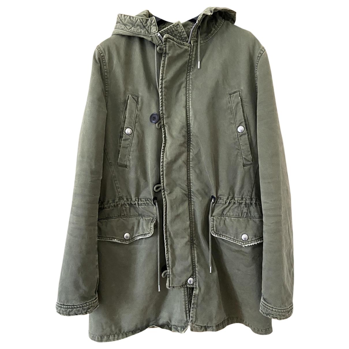 Department 5 - Manteau   pour homme en coton - vert