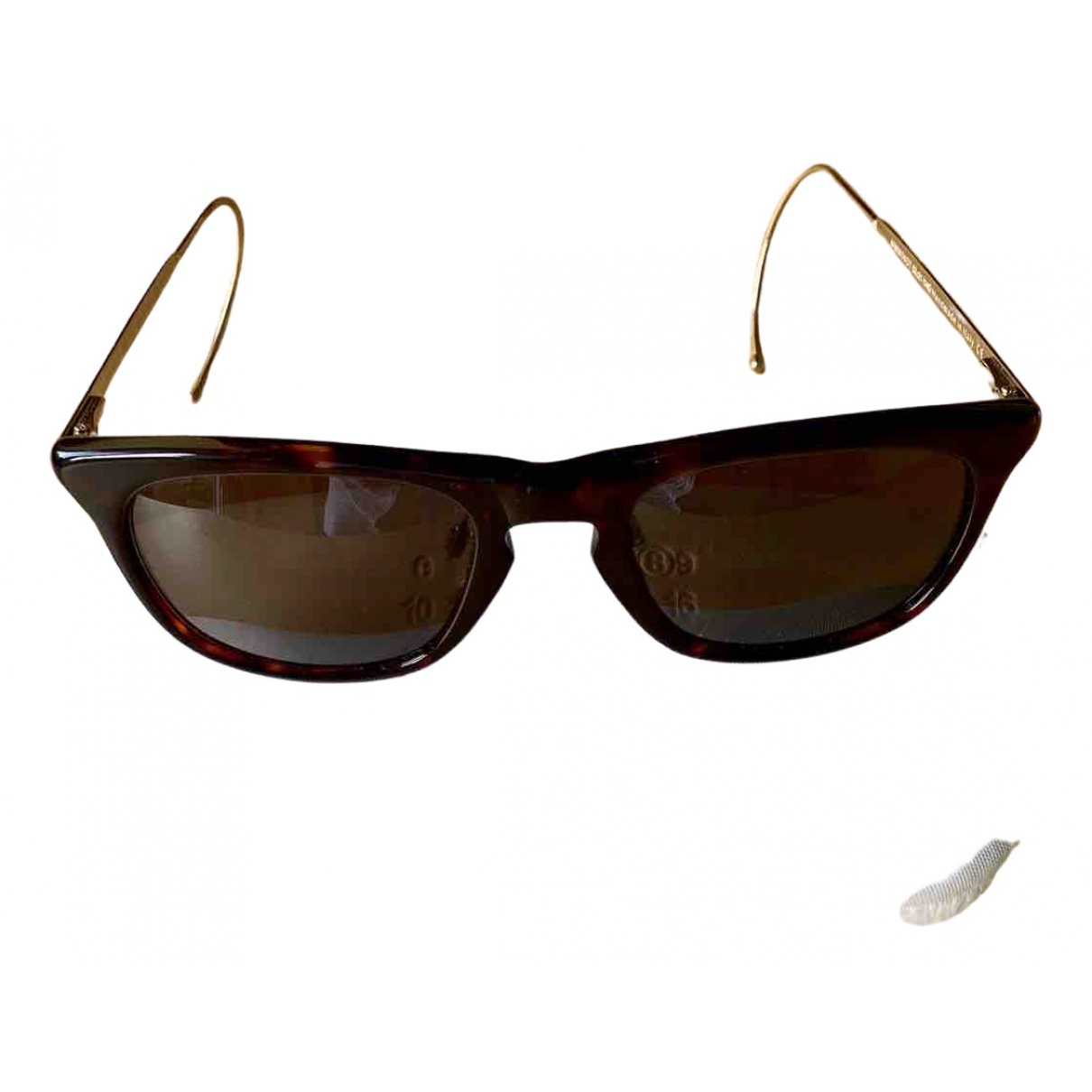 Maison Martin Margiela N Brown Sunglasses for Men N