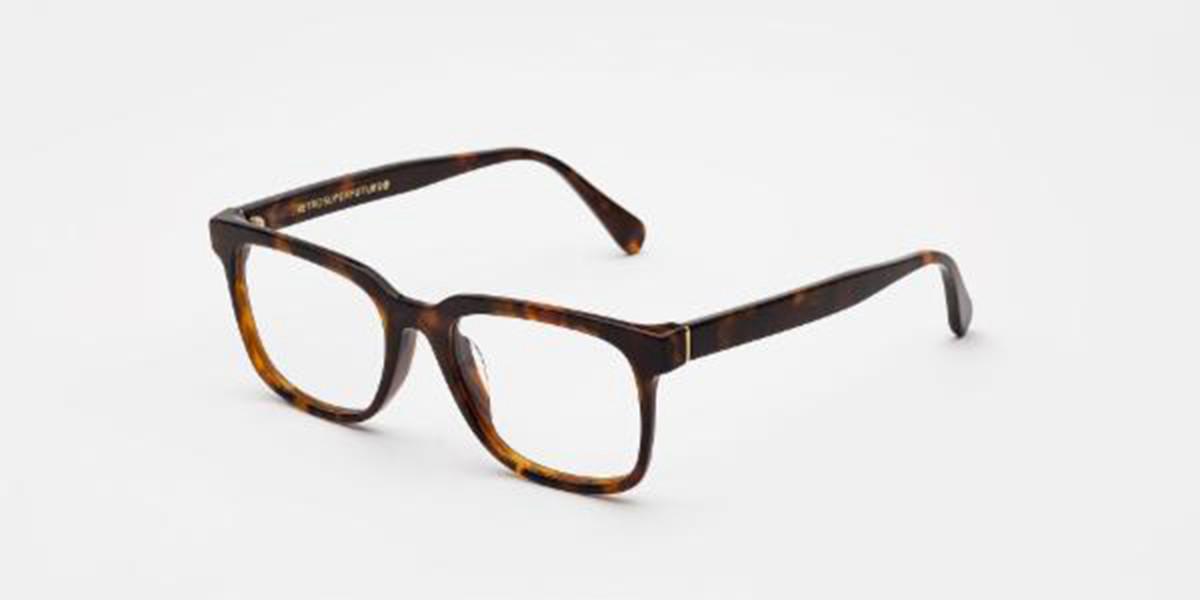 Retrosuperfuture Numero 19 Classic Havana ID1F PFK Men's Glasses Tortoise Size 52 - Free Lenses - HSA/FSA Insurance - Blue Light Block