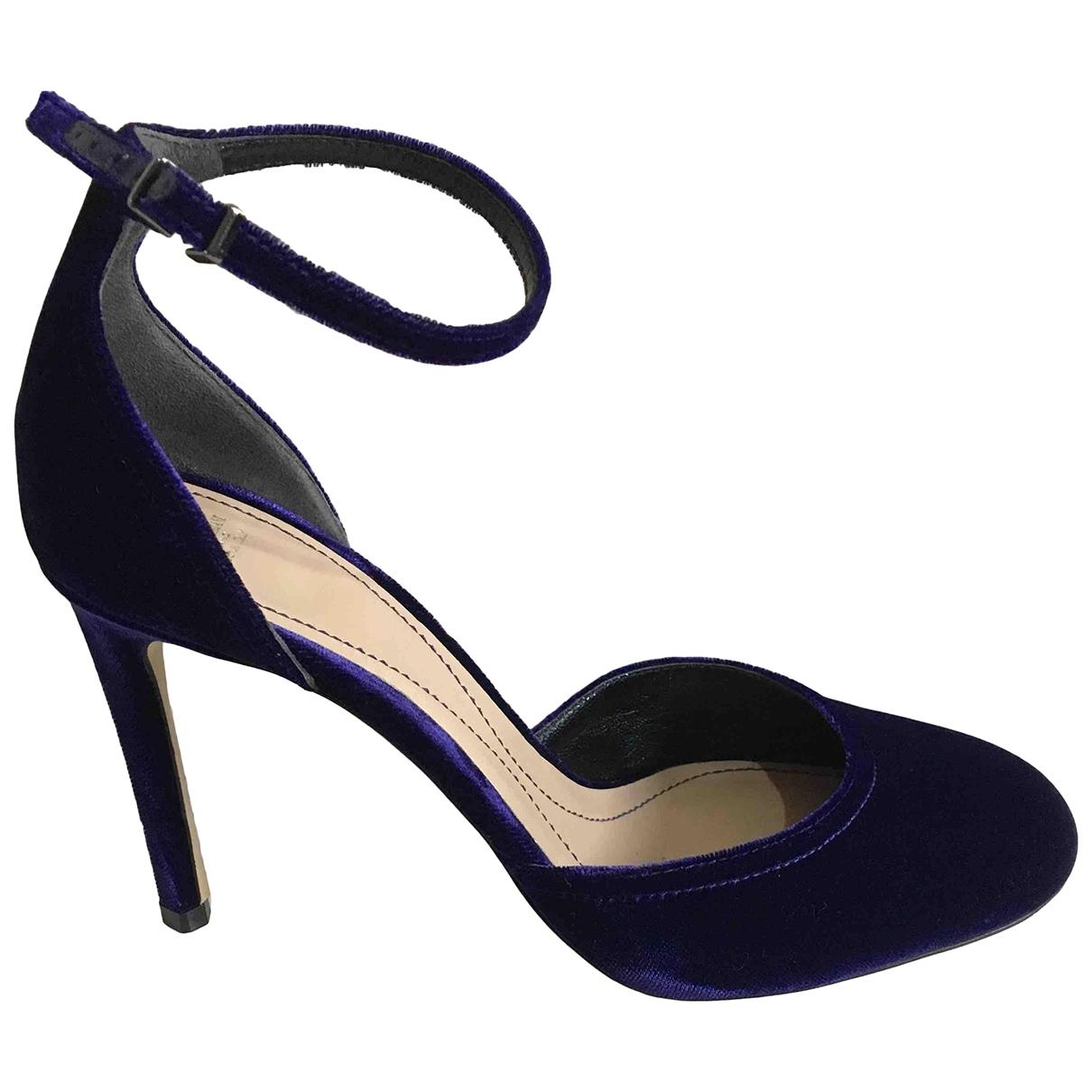 Giorgio Armani - Escarpins   pour femme en velours - violet