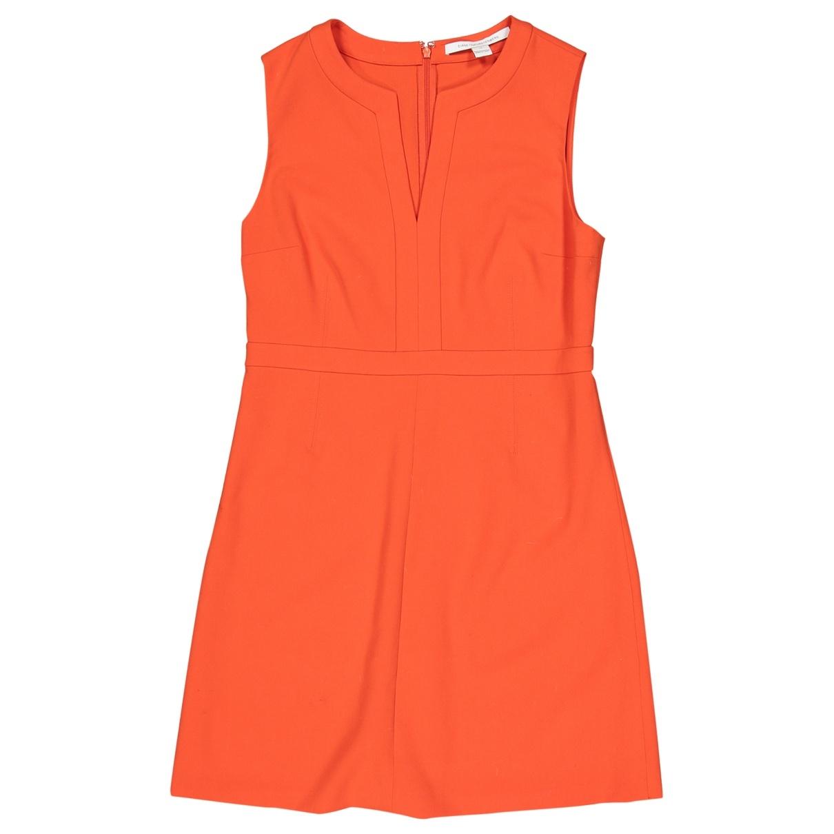 Diane Von Furstenberg \N Orange dress for Women 12 UK