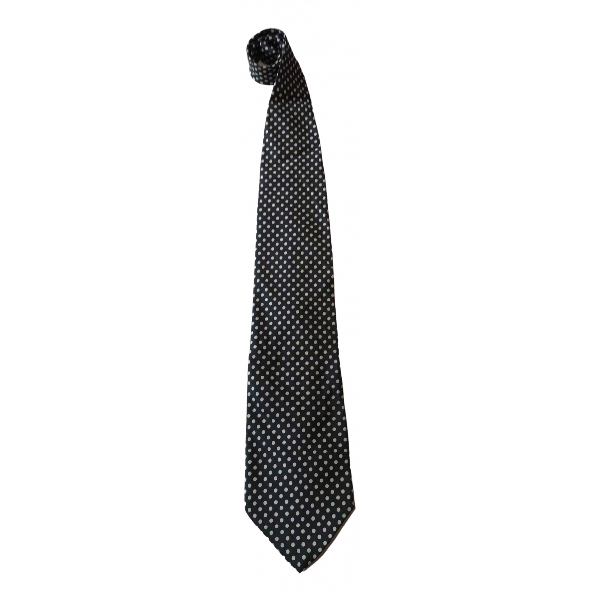 Moschino \N Blue Silk Ties for Men \N