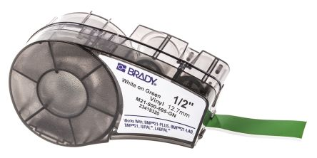 Brady Cable Label Labels, For Use With BMP21 Label Printers