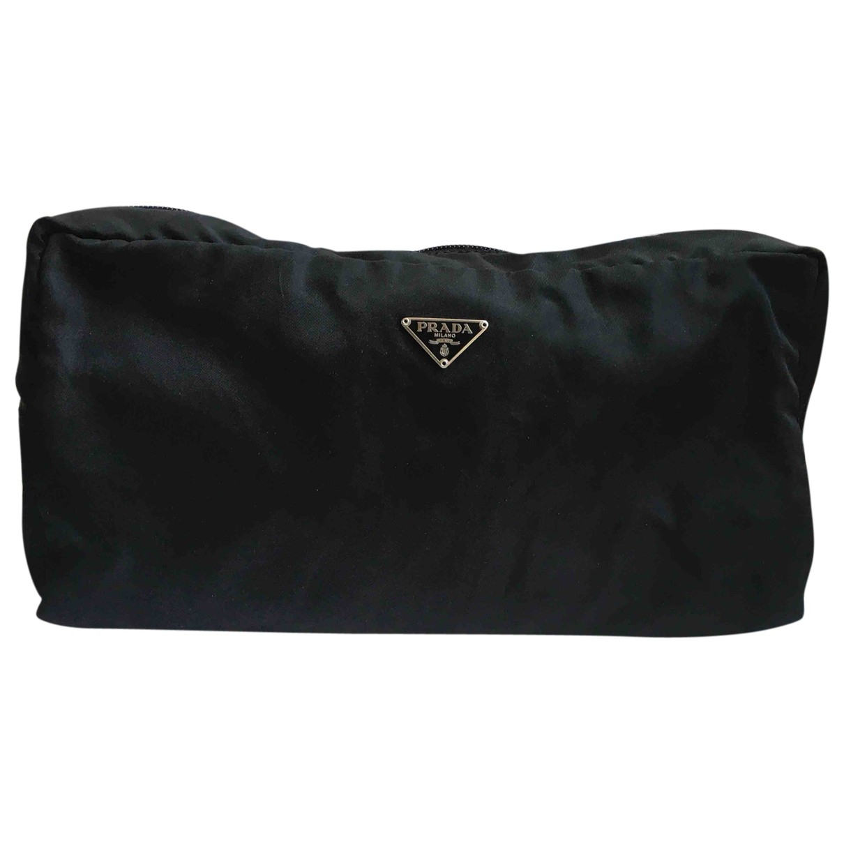 Prada - Pochette   pour femme en toile - noir