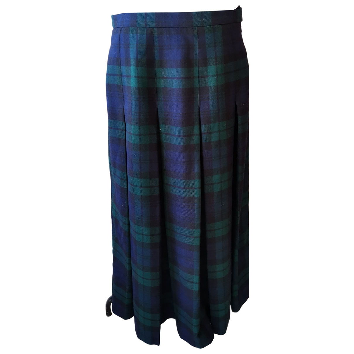 Non Signé / Unsigned \N Wool skirt for Women 50-52 IT