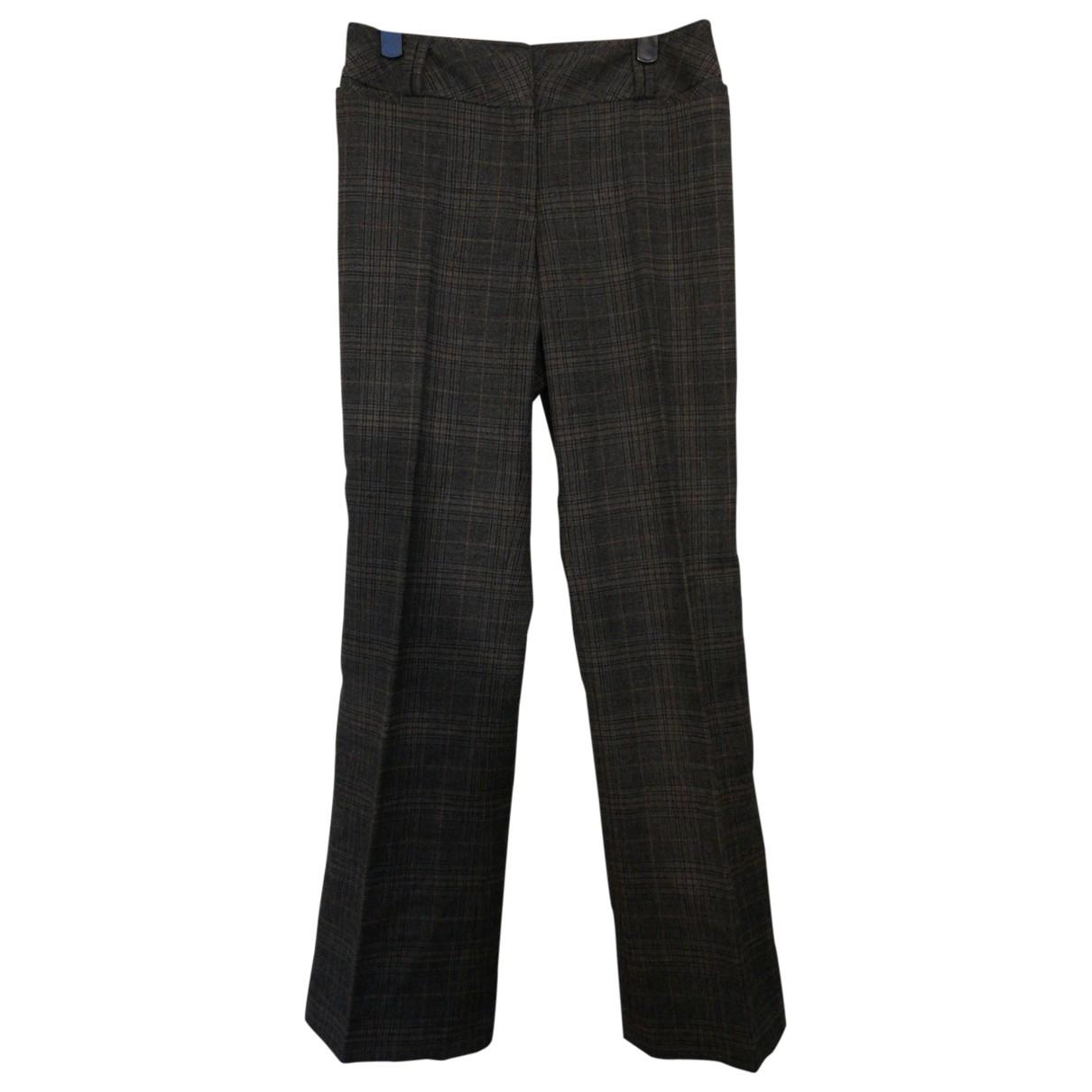Pantalon recto de Lana Non Signe / Unsigned