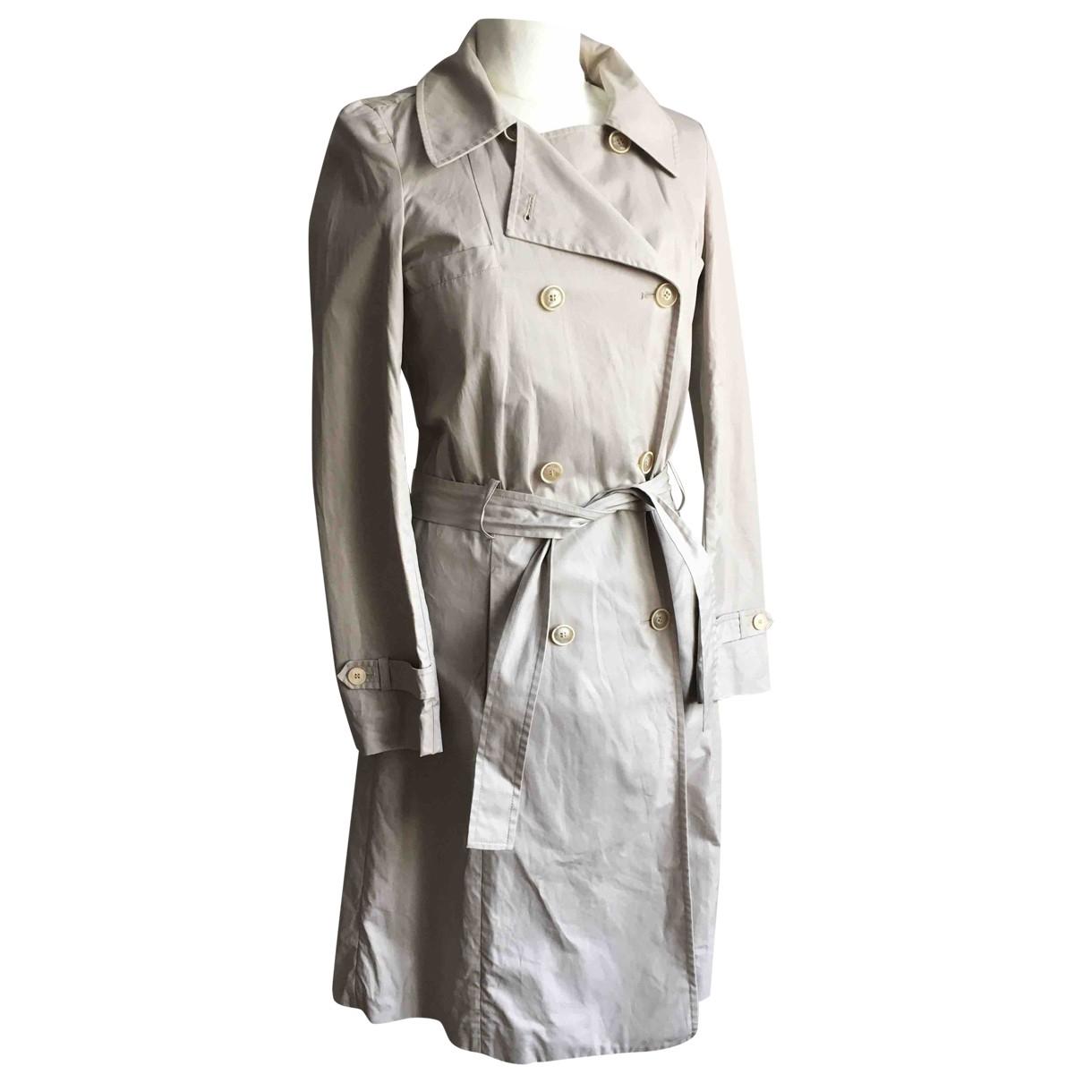 Vanessa Bruno - Trench   pour femme en coton - beige