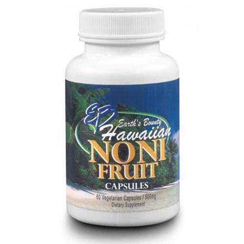 Noni Fruit Hawaiian 60 VEG CAPS by Earths Bounty