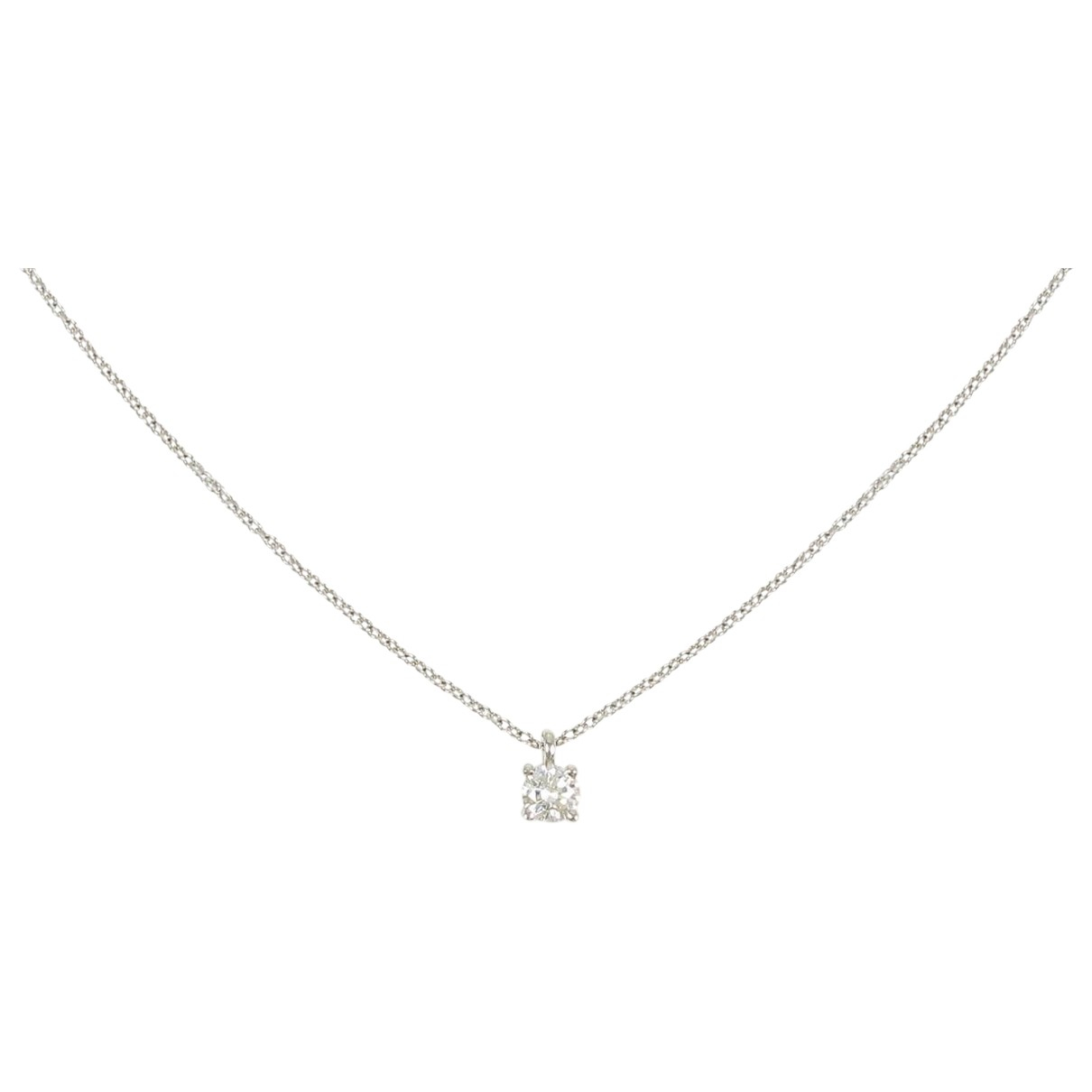 Tiffany & Co \N Kette in  Silber Platin