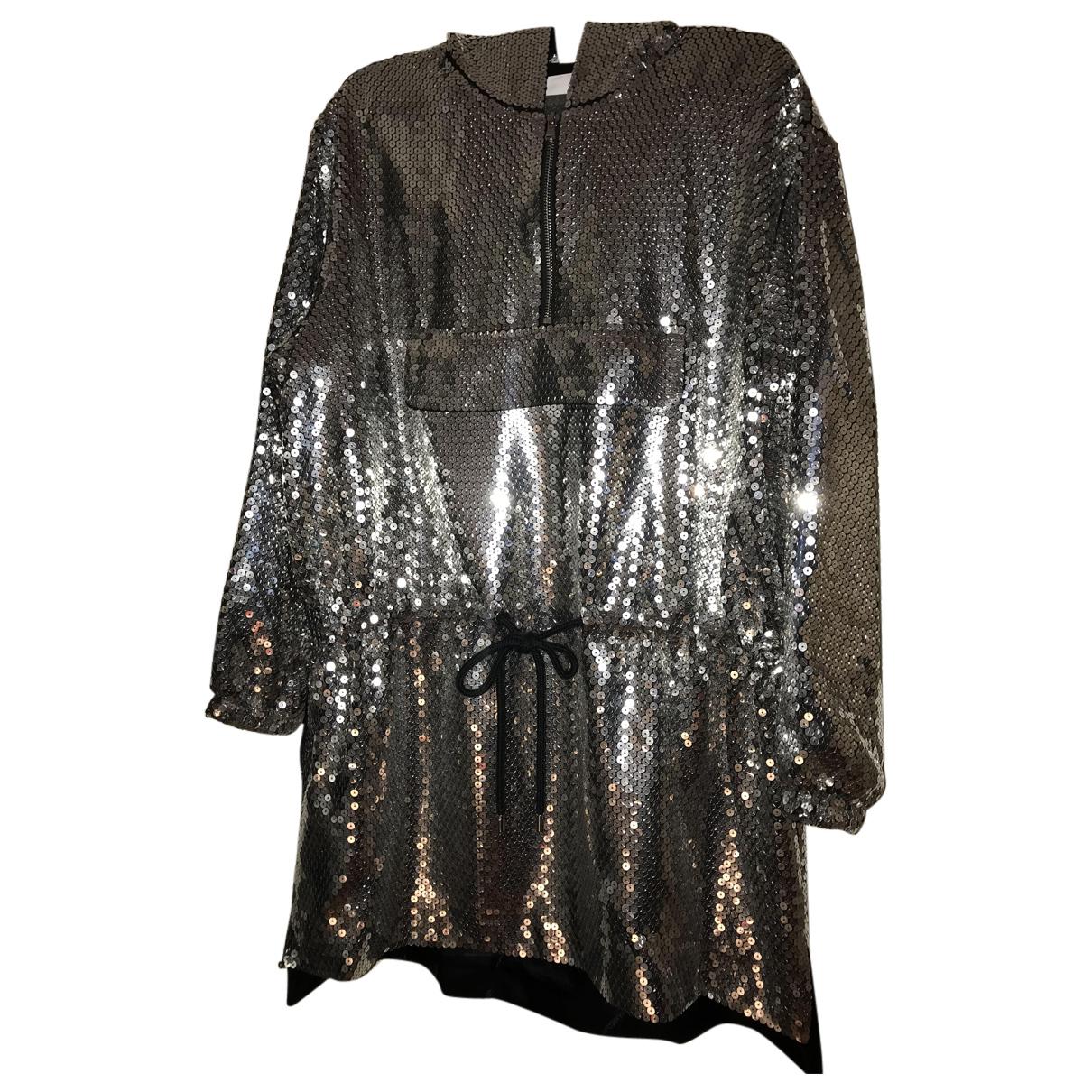 Moschino \N Kleid in  Metallic Mit Pailletten