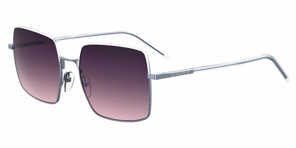 Moschino Love MOL022/S R7Y/O9 Women's Sunglasses Blue Size 56