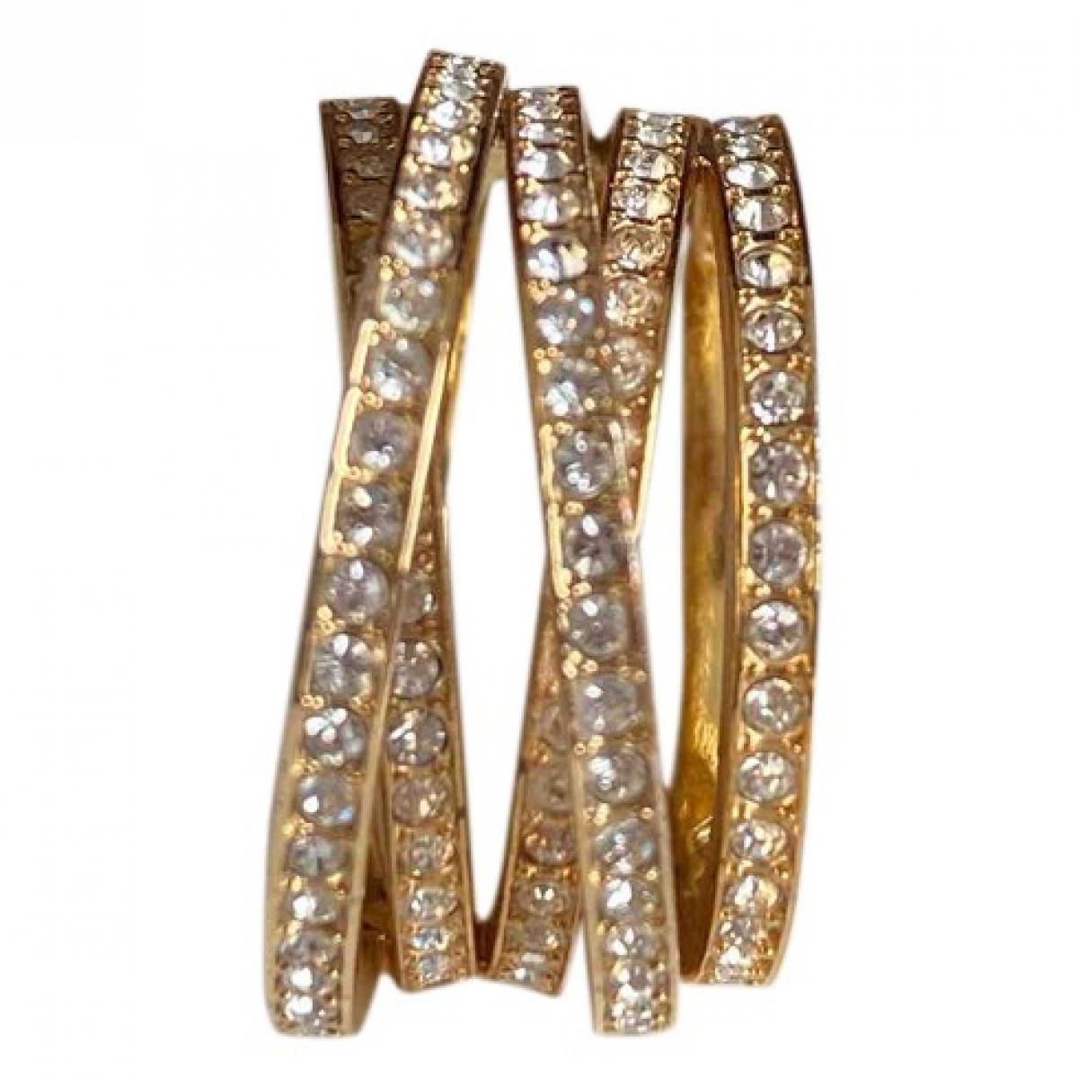 Swarovski - Bague   pour femme en cristal - dore