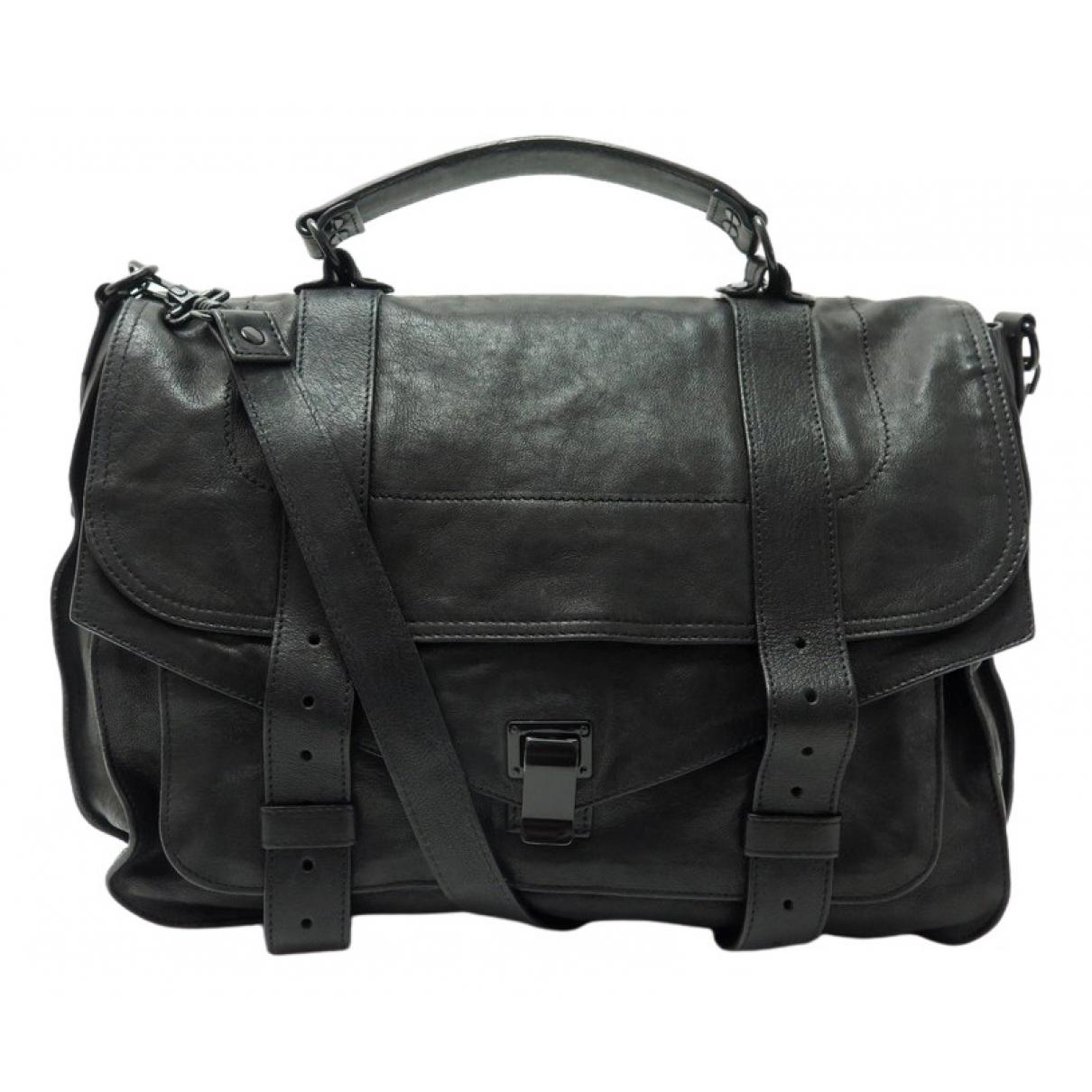 Proenza Schouler PS1 Black Leather handbag for Women \N