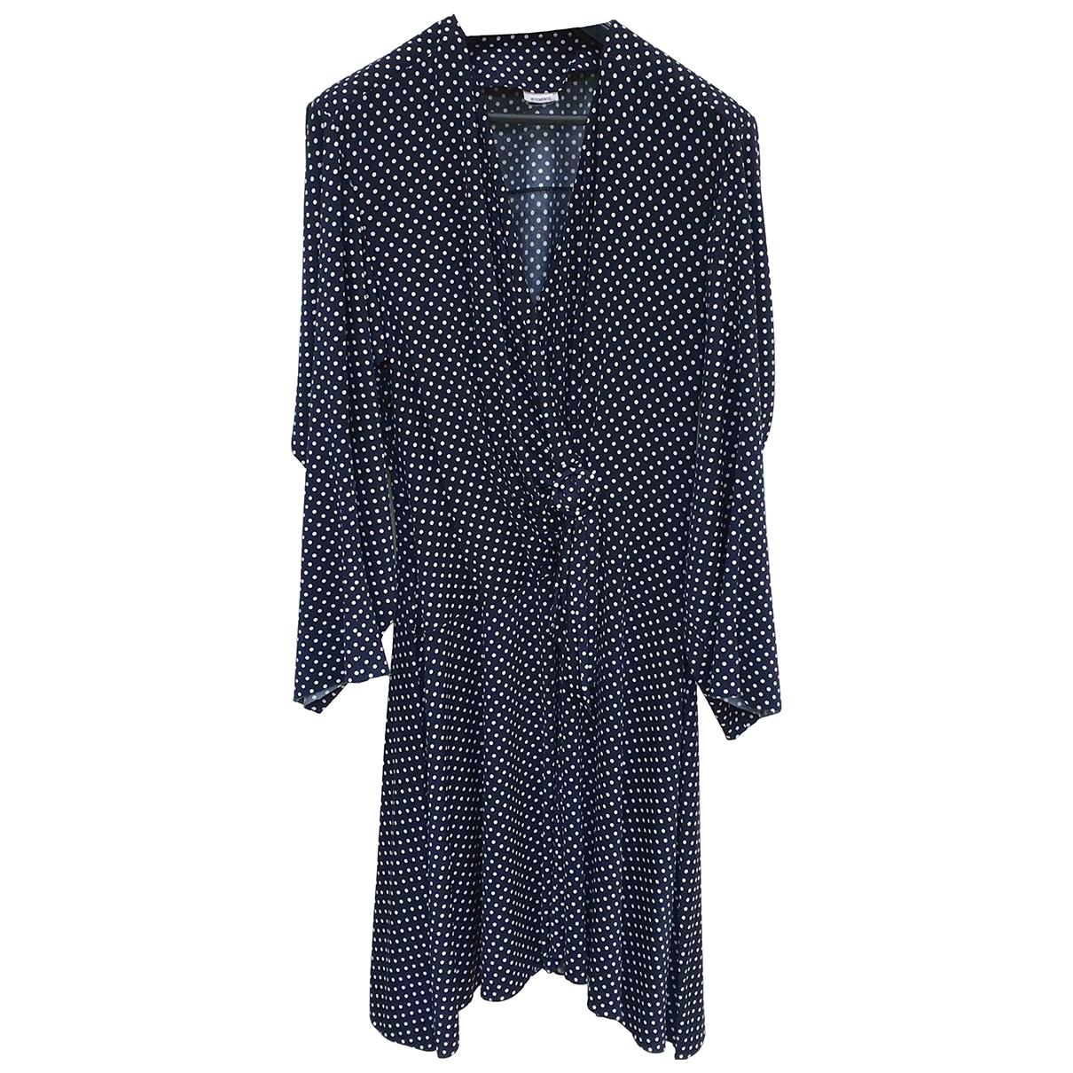 Vetements \N Kleid in  Marine Polyester