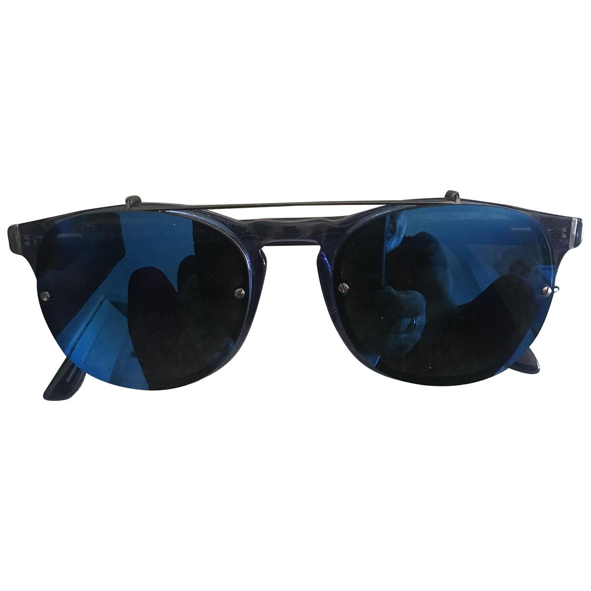 Tod's \N Blue Metal Sunglasses for Men \N