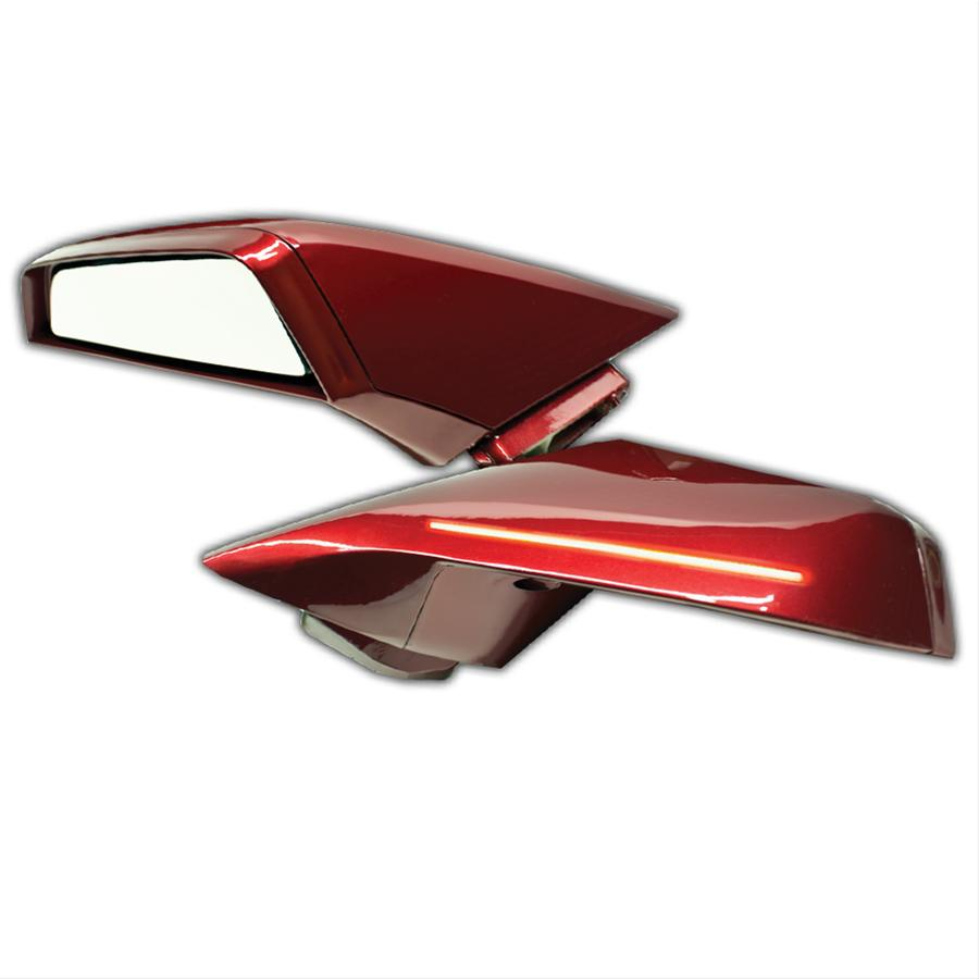Oracle Lighting 3026-504 Chevrolet Camaro ORACLE Concept Side Mirrors - Black (GBA) - Dual Intensity