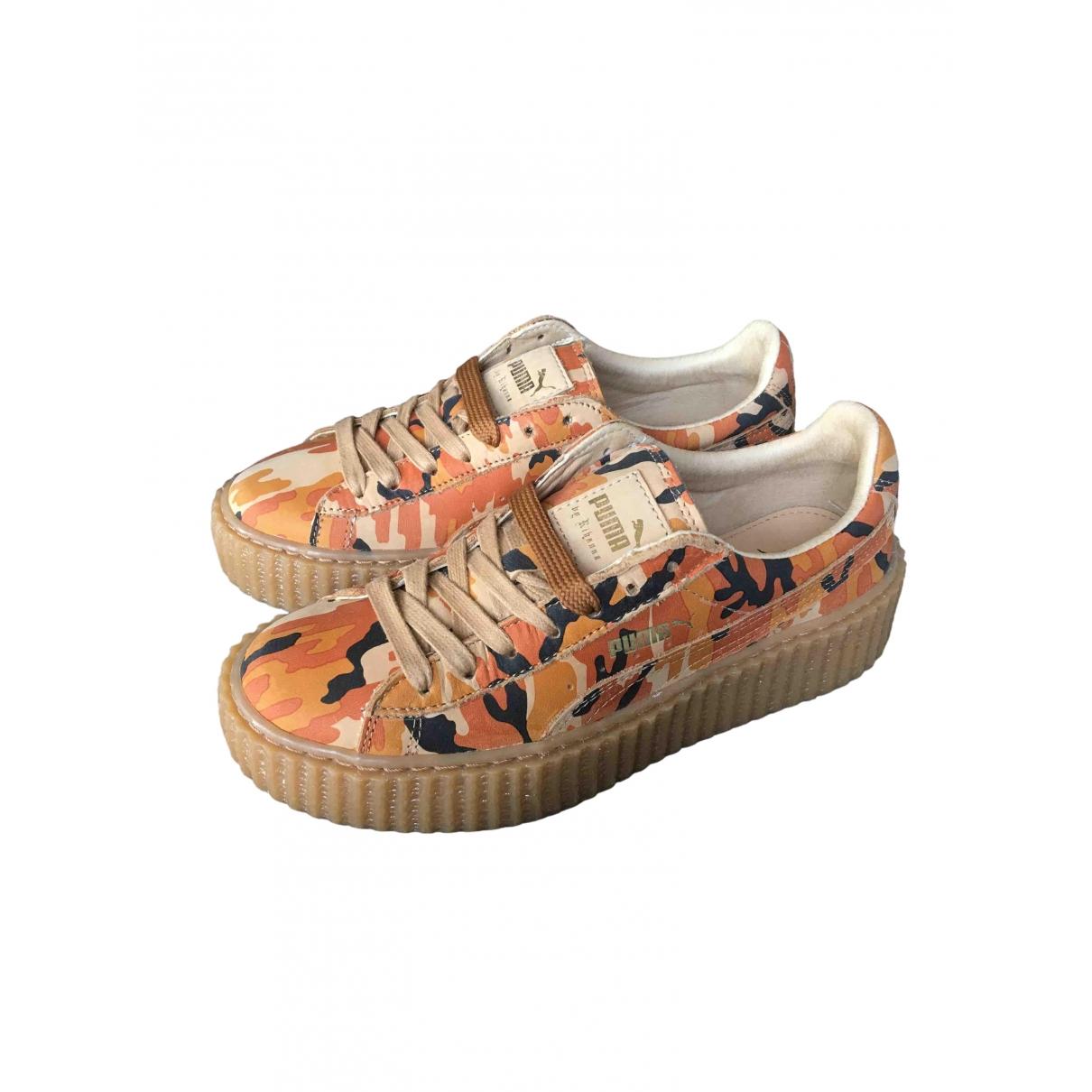 Fenty X Puma \N Sneakers in  Bunt Leder