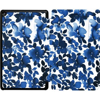 Amazon Fire HD 8 (2017) Tablet Smart Case - Sophia Blue Floral von Amy Sia