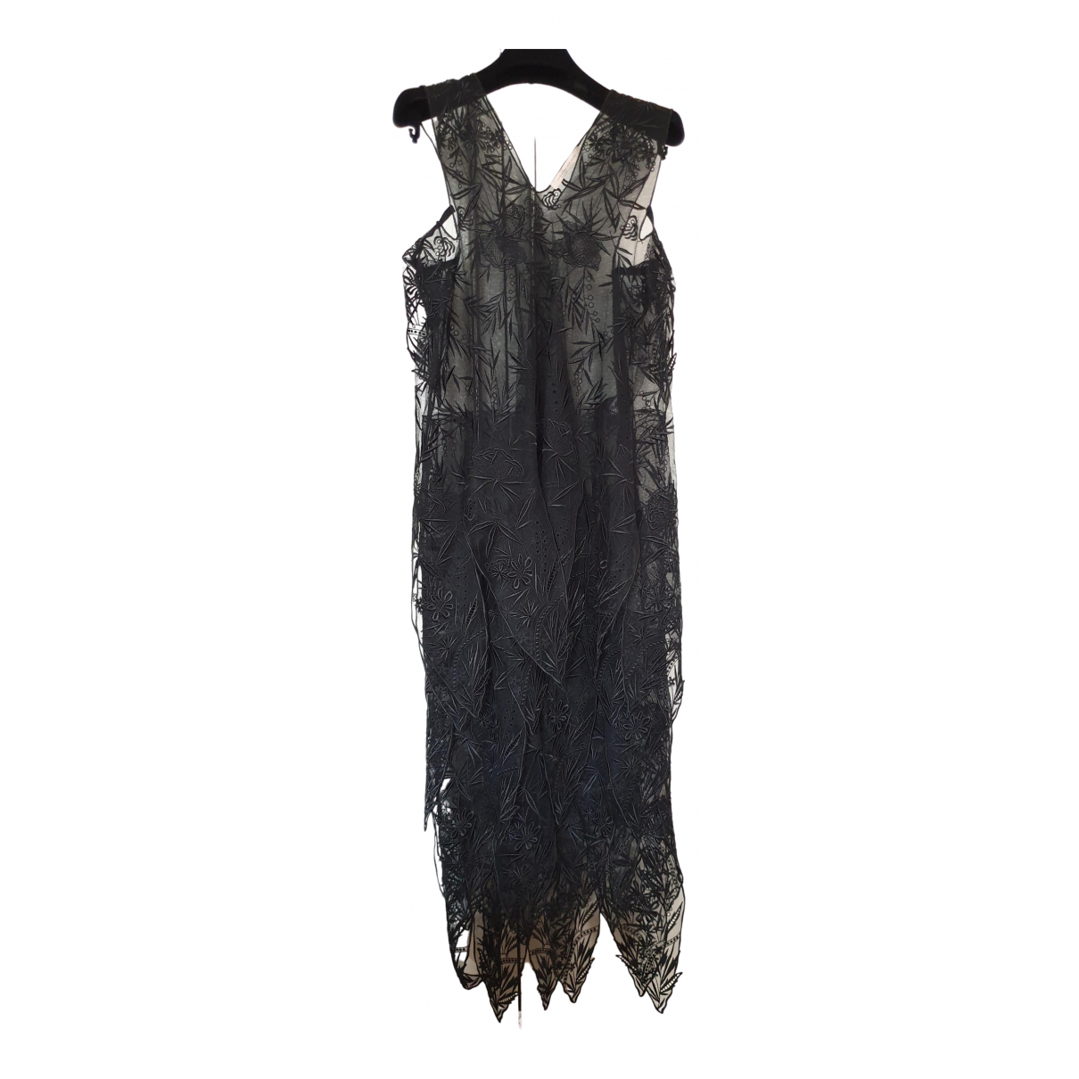 Christopher Kane \N Kleid in  Schwarz Polyester