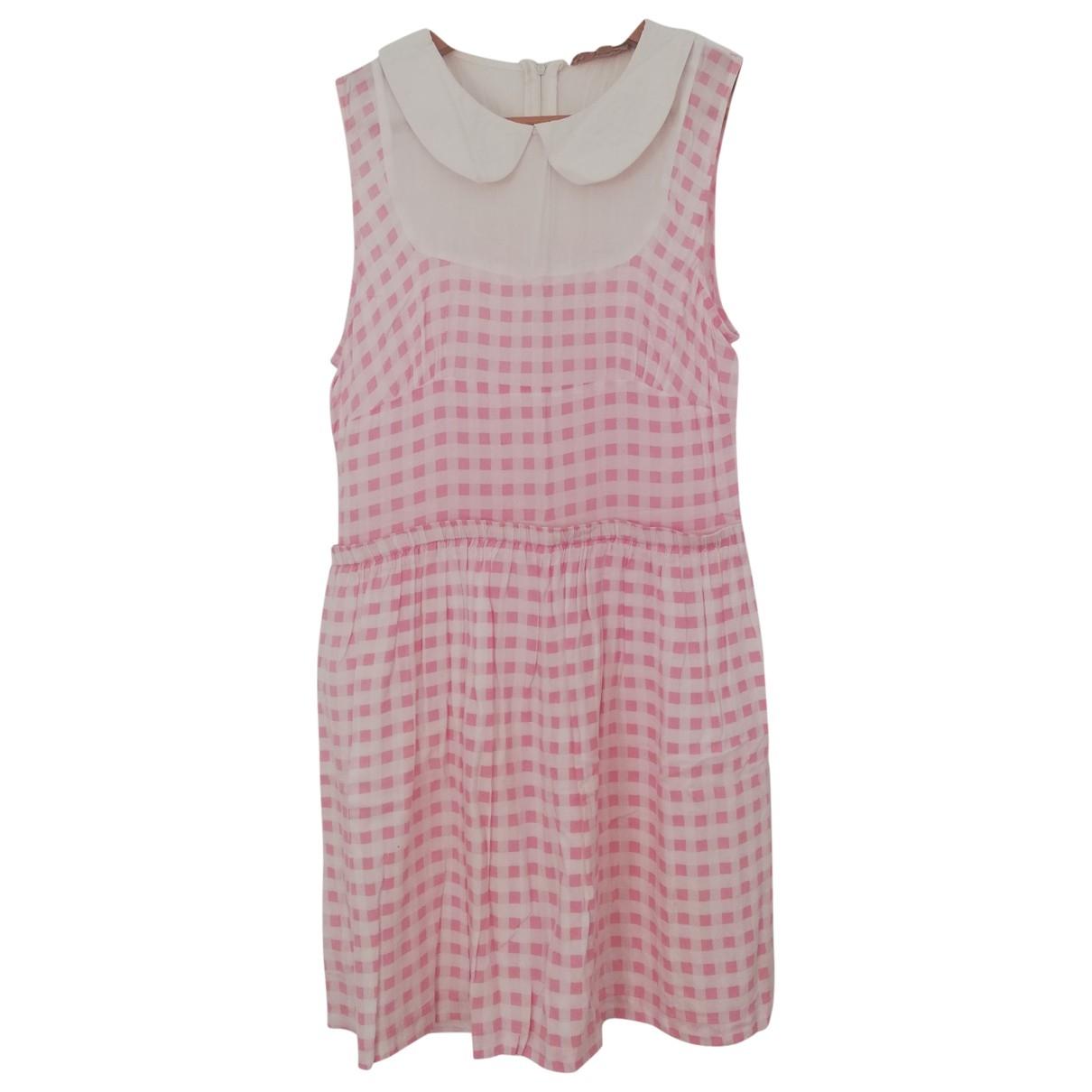 Bel Air \N Pink Cotton dress for Women 36 FR