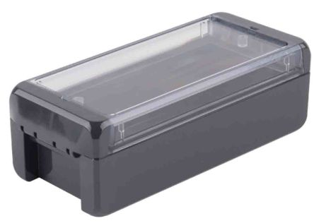 Bopla Bocube, Graphite Grey Polycarbonate Enclosure, IP66, IP68, Flanged, 191 x 80 x 60mm