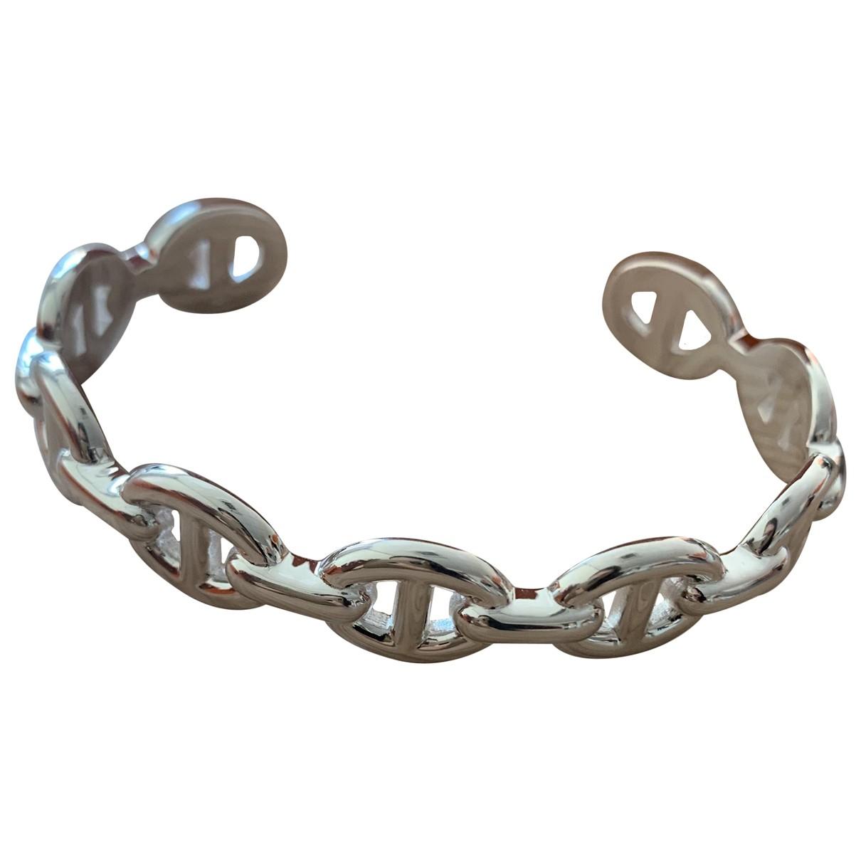 Hermès Chaîne d'Ancre Silver Silver bracelet for Women \N