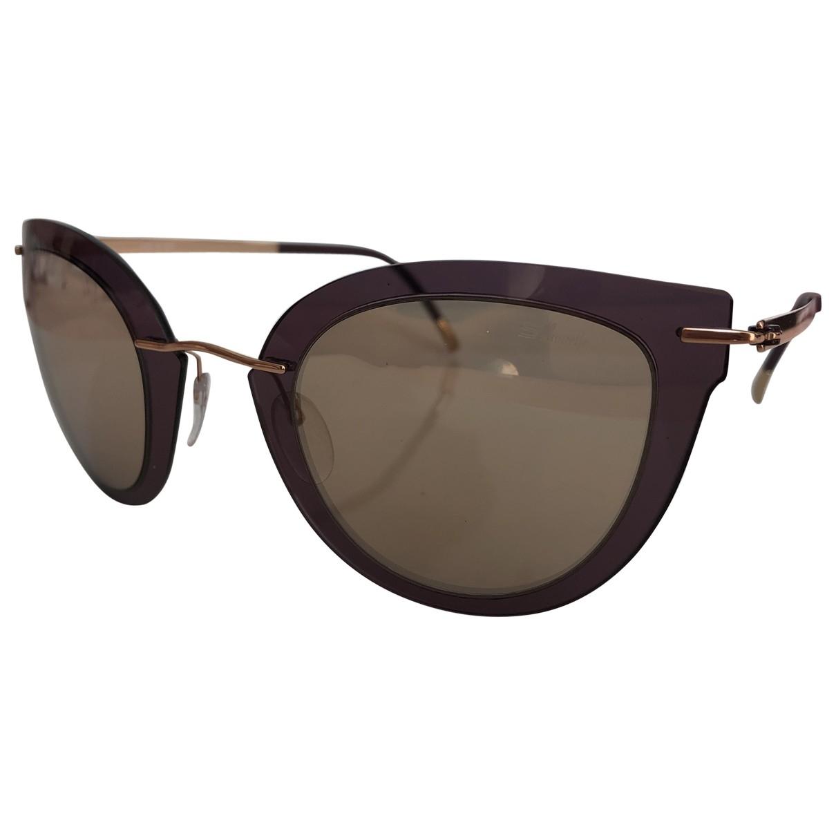 Silhouette \N Beige Sunglasses for Women \N
