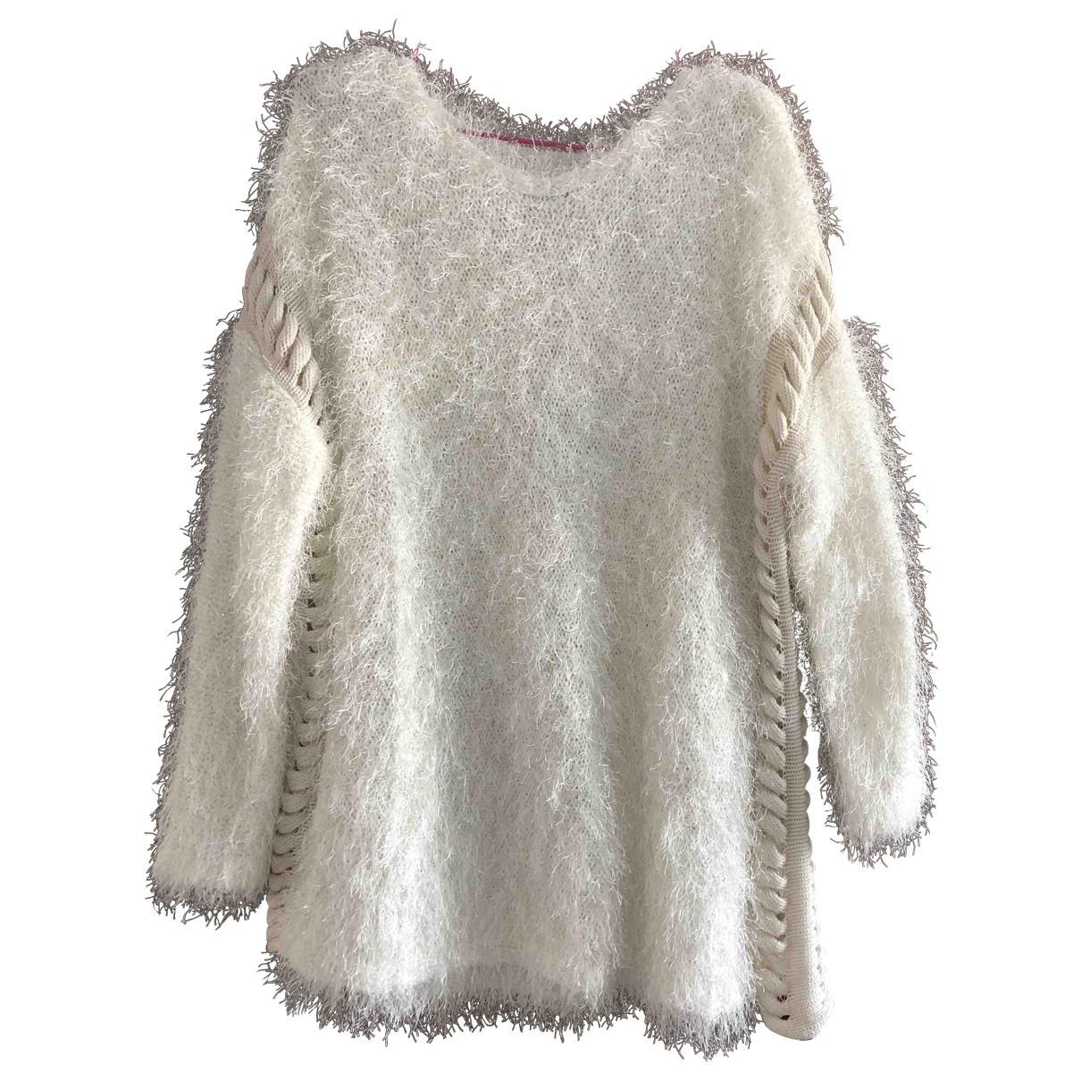 Uterque \N Ecru Wool Knitwear for Women 36 FR