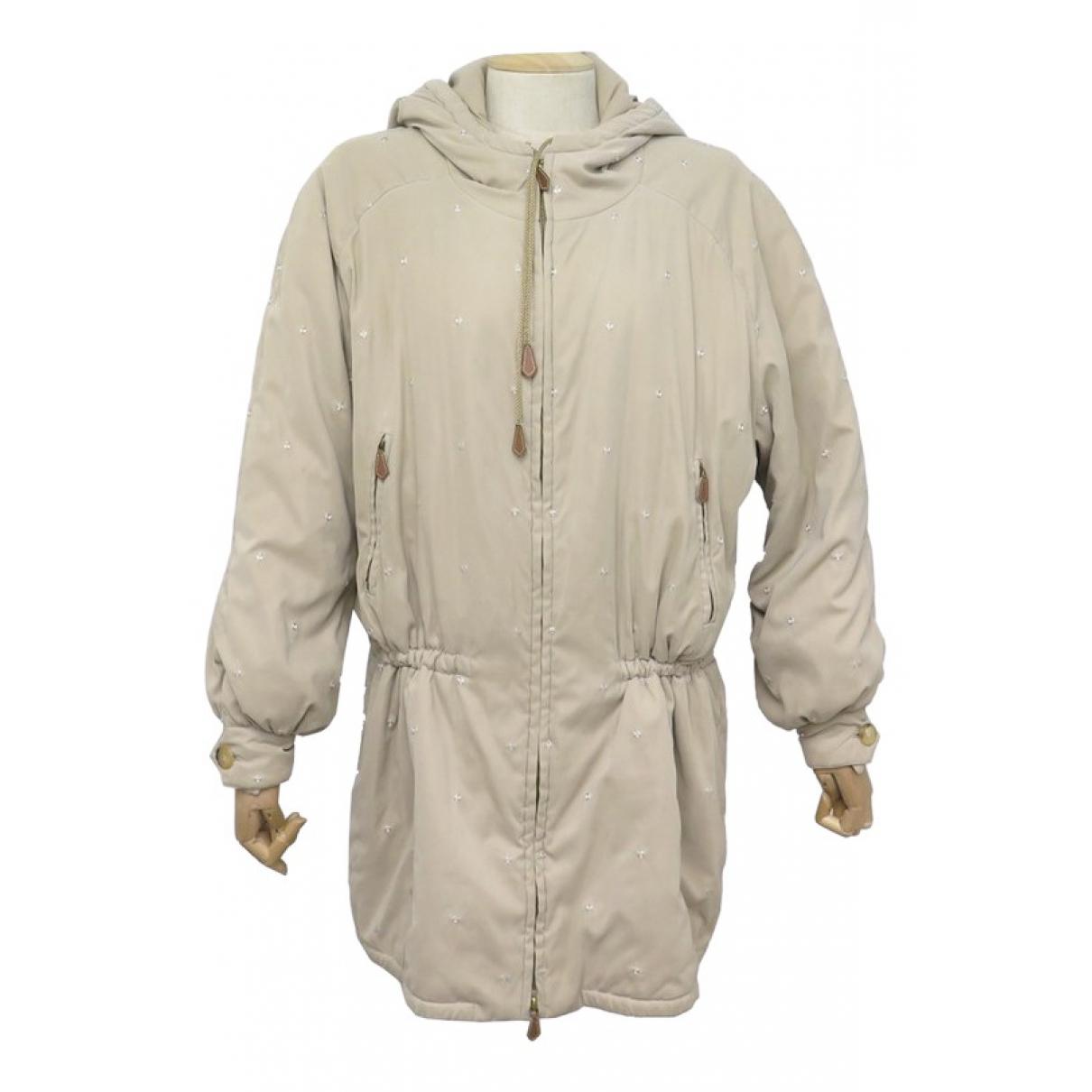 Hermès N Beige coat for Women 40 FR